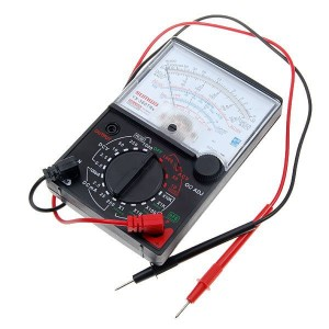 Analógový mini multimeter