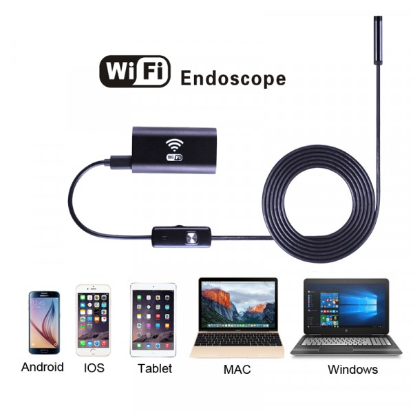 Wifi endoskop pre iOS, Apple, Windows 1m